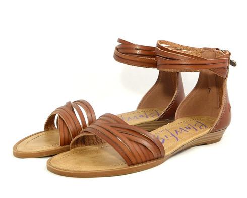 Blowfish Baot vegan mini-wedge sandal