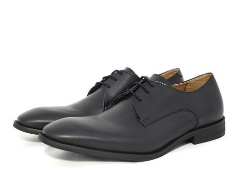 Ahimsa Plain Toe vegan men's dress shoe