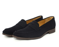 Ahimsa Penny Loafer vegan canvas penny loafer