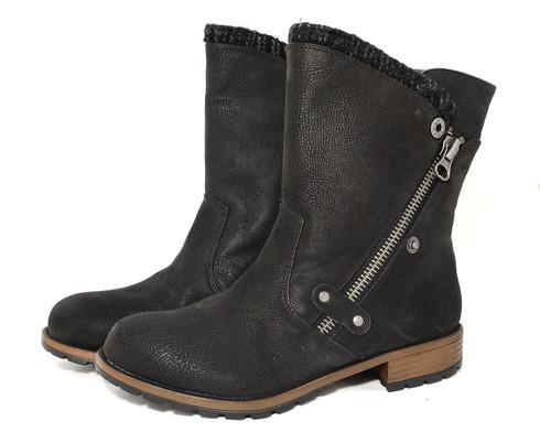 Madeline Rabble vegan fleece lined boot
