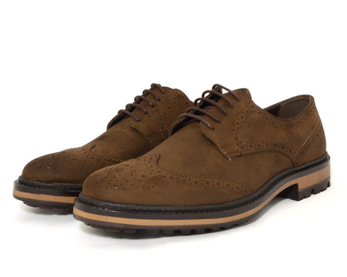 Wills Continental Brogue vegan brogued derby