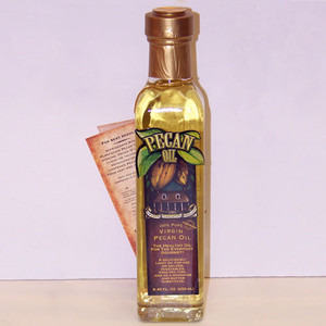 Virgin Pecan Oil - 8.45 oz.