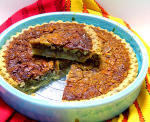 Valley Pecans famous homemade pecan pie.