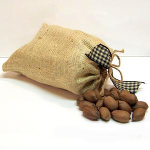 Burlap Bag, Whole Pecans