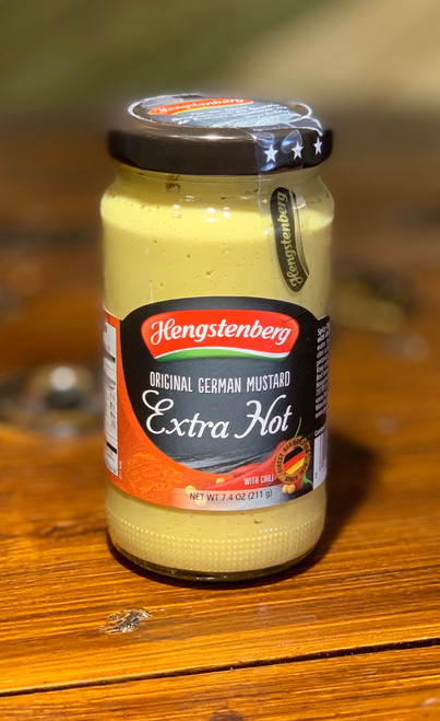 Hengstenberg Extra Hot Mustard 7.6oz
