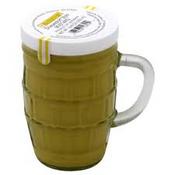 Düsseldorf Style Mustard in a Beer Glass