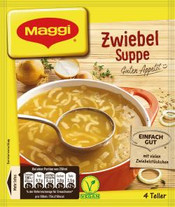 Maggi MK. Zwieble Feinschmecker Suppe