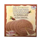 Dr. Quendt Oblaten Gefullt mit Schokocreme 5.3oz