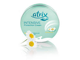 Atrix intensive protective creme with chamomile.