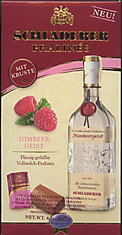 Produced from fresh, fully-ripened fruits by a master distiller, Schladerer fruit spirits have long enjoyed great popularity. Now imagine the finest milk chocolates over a sugar crust filled with Schladerer Raspberry Brandy and you have Schladerer Pralines. You won't be able to resist. Makes a great gift. For Adults Only! Must be 21 years of age or older to purchase this item.