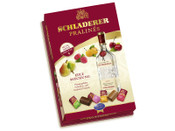 Finest assortment of mouth watering milk and semi-sweet chocolates filled with only the best Schladerer fruit brandies. Includes Cherry Brandy (Kirschwasser), Williams Pear Brandy (Williams Christbirne), Raspberry Brandy (Himbeergeist) and Mirabelle Brandy . (Mirabellen-Brand). Sure to impress the connoisseur in your family. For Adults Only! Must be 21 years of age or older to purchase this item.