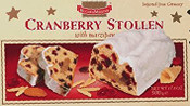Cranberry Stollen with Marzipan - 17.5oz