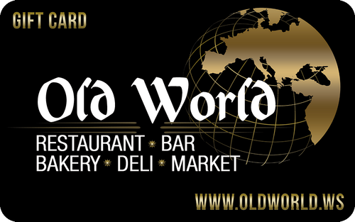 Old World Gift Cards