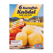 Dr. Knoll 6 Kartoffel-Knoedel Halb und halb 7oz