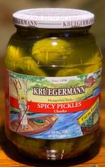 Kruegermann Spicy Uborka Pickles 32oz