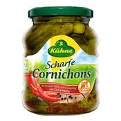 Kuhne Scharfe Cornichons