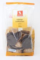 Weiss Fruchte Lebkuchen Glazed Gingerbread Fruit Cookies
