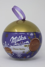 Milka Chocolate Wafer in Christmas Ornament