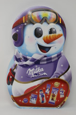 Milka Snowman-Shaped Advent Calendar