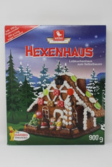 Weiss Hexenhaus Lebkuchenhaus Zum Selbstbauen