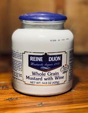 Reine Dijon Whole Grain Mustard with Wine 14.8oz