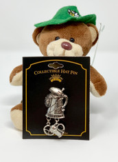 Collectable Hat Pin • Beer Stein