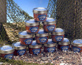 12 jars of smoked Copper River Salmon