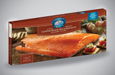 Each case includes 12 16oz Smoked Copper River Sockeye Salmon Fillets, individually boxed for convenient gifts and entertaining (192oz total).