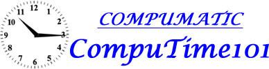 25 Employee Compumatic CompuTime101 Time Clock Software for Biometric HandPunch Clocks