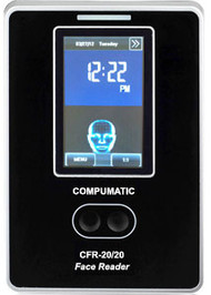 Compumatic CFR-20/20 Face Recognition Time Clock (Ethernet)