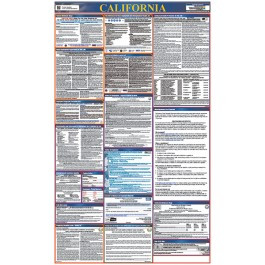 California All-in-One Labor Law Poster