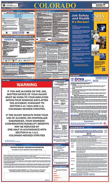 Colorado All-in-One Labor Law Poster