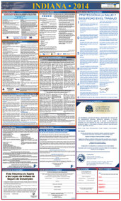 Indiana SPANISH All-in-One State and Federal Labor Law Poster