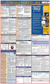 Massachusetts SPANISH All-in-One State and Federal Labor Law Poster