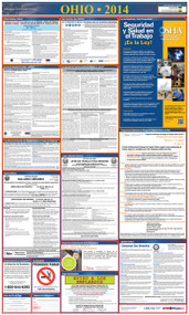 Ohio SPANISH All-in-One State and Federal Labor Law Poster
