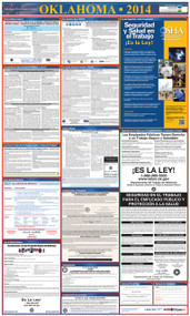 Oklahoma SPANISH All-in-One State and Federal Labor Law Poster