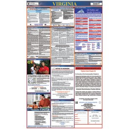 Virginia All-in-One Labor Law Poster