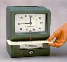 Acroprint 150 Heavy Duty Mechanical Time Clock