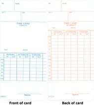 ATR121 Weekly & Bi-Weekly Time Cards