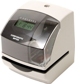 Compumatic MP550 Electronic Time Clock & Validation Time Stamp