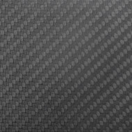 "Matte Carbon Fiber Sample 4""x4""x 1.7mm (102mm x 102mm)"
