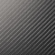 "Semi-Gloss Carbon Fiber Sample  4"" x 4""x 3.1mm (102mm x 102mm)"