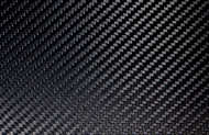 "High Gloss Carbon Fiber Veneer  4""x4""x .25mm (102mm x 102mm)"