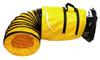 "OSDT425 - 4"" x 25'  PVC Flexible Ducting"