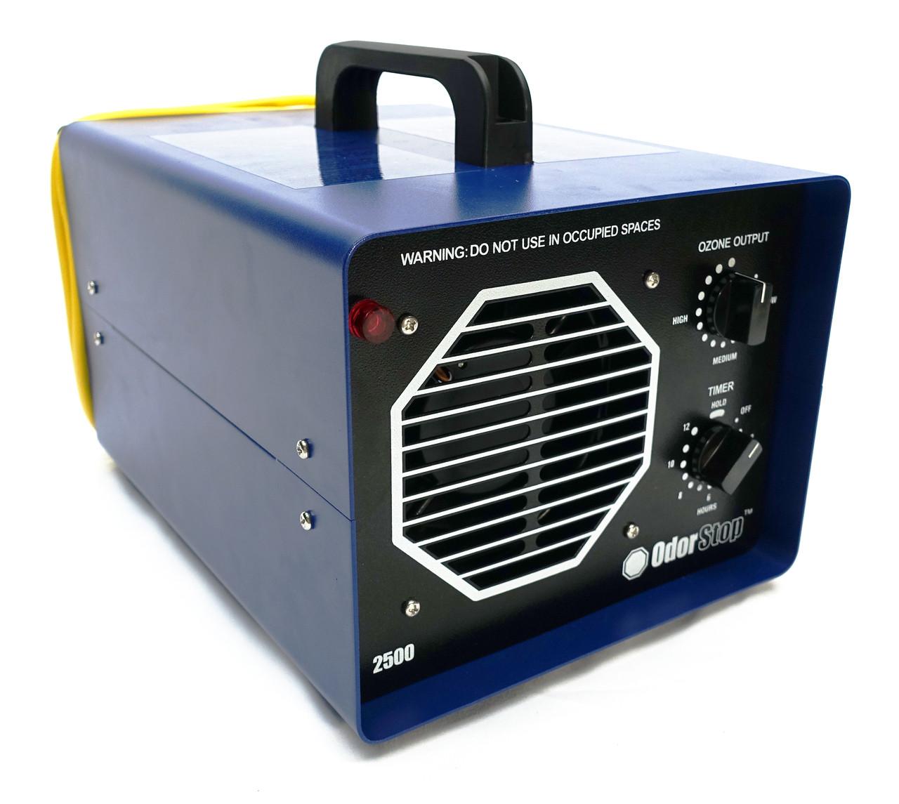 OS2500 - Ozone Generator with 2 Ozone Plates - OdorStop