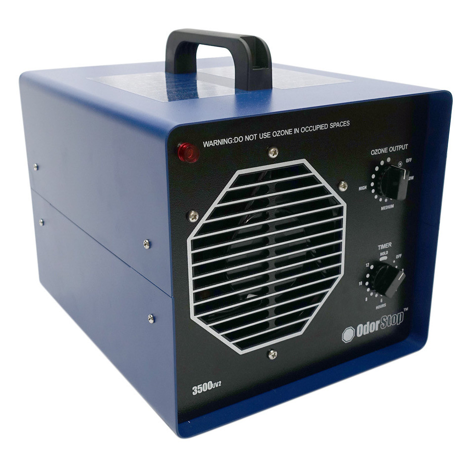 OS3500UV2 - Ozone Generator/UV Air Cleaner with 3 Ozone Plates, UV, and  Charcoal Filter