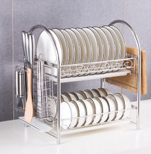 HW11082018C Stainless Steel Dish Storage Rack