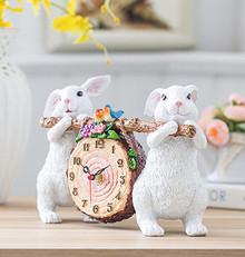 HWD28082018G Bunny / Bear Clock