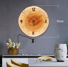 HW171112018C Wood Clock