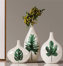 HW171112018F Leave vase set